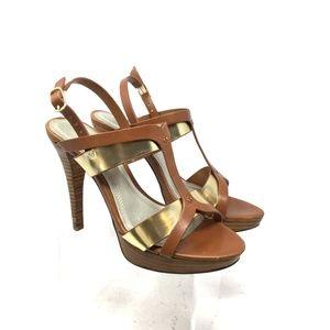 Chilis Women's Sandal Size 6M Ohanna Dress Brown